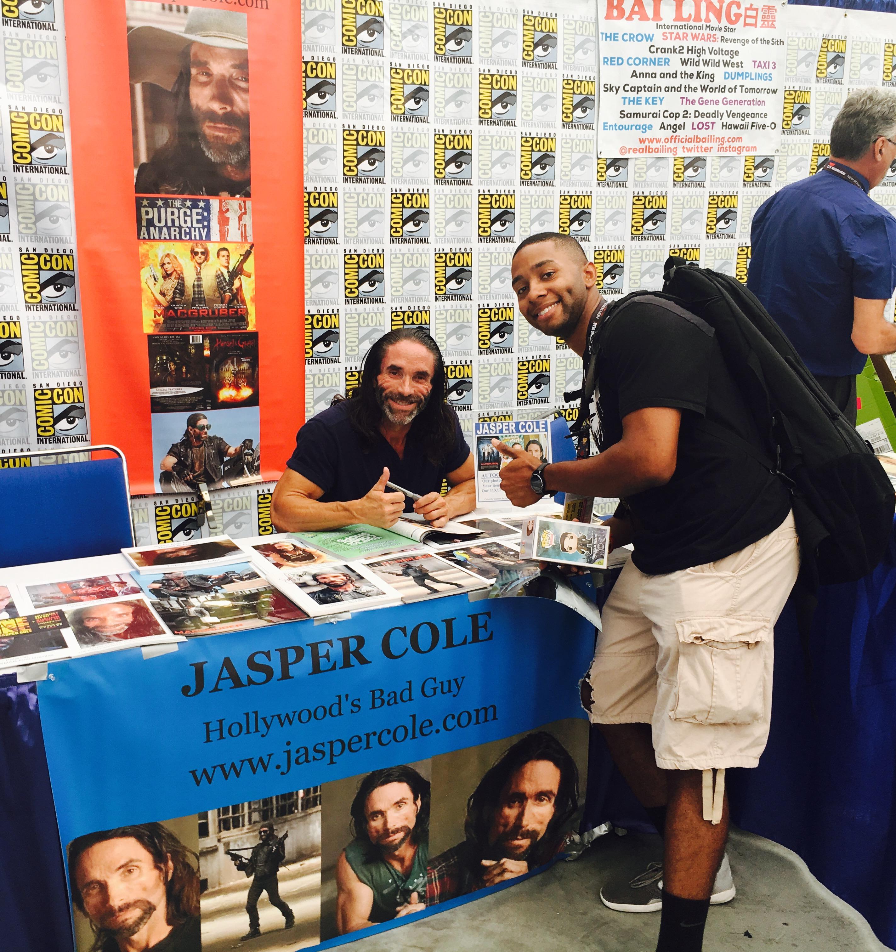 Jasper Cole Comic Con 2017
