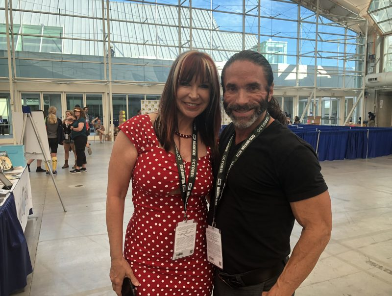 Jasper Cole and Cynthia Rothrock